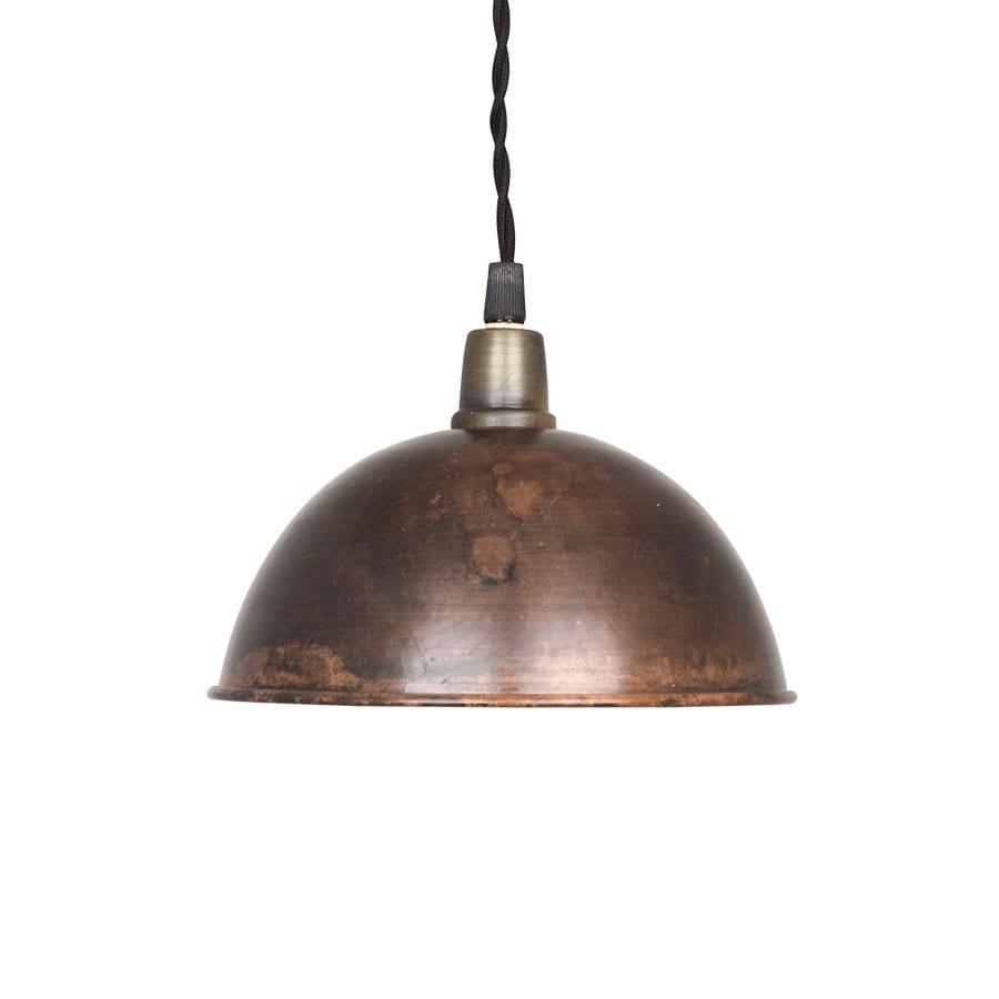 Pendant Lamp Pelle Vintage Brown