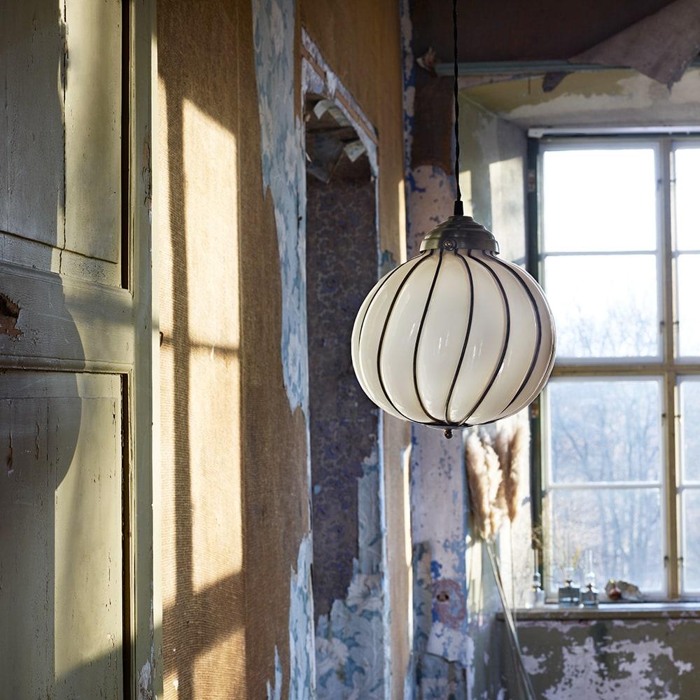 Pendant Lamp Maud White