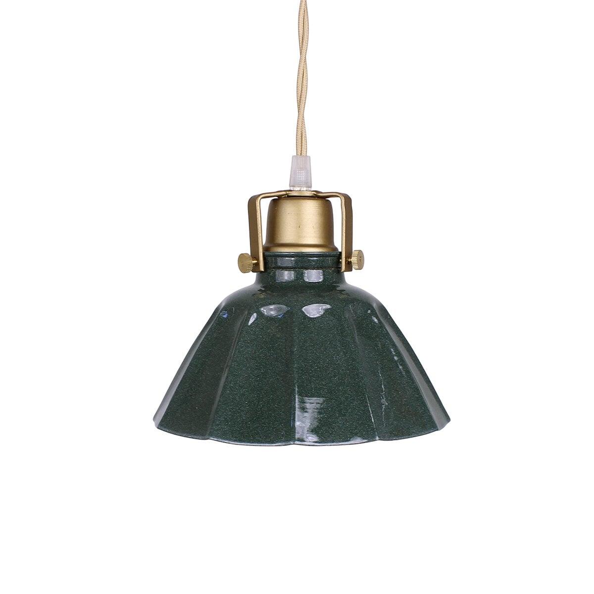 Pendant Lamp Margareta Dark Green