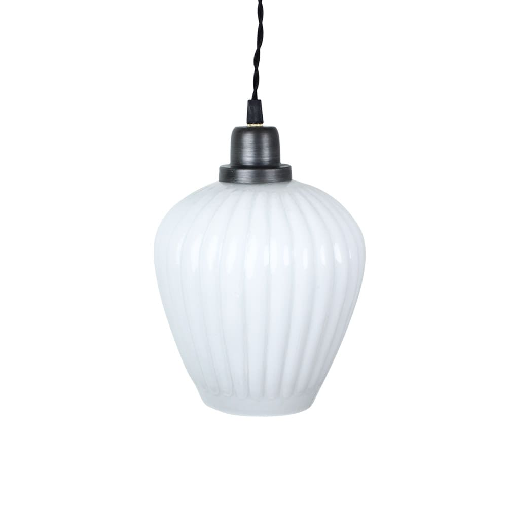 Pendant Lamp Gunilla Cup White/Graphite