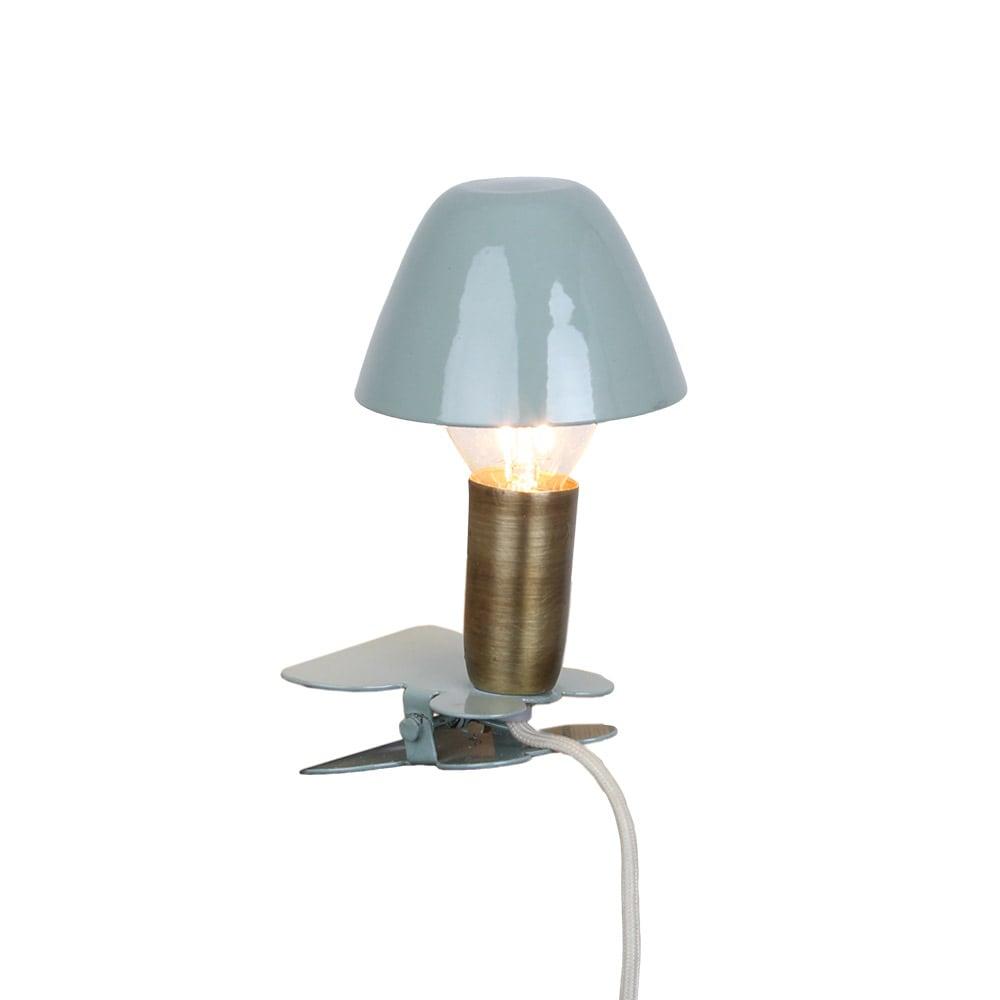 Lamp Mini On Clip Green