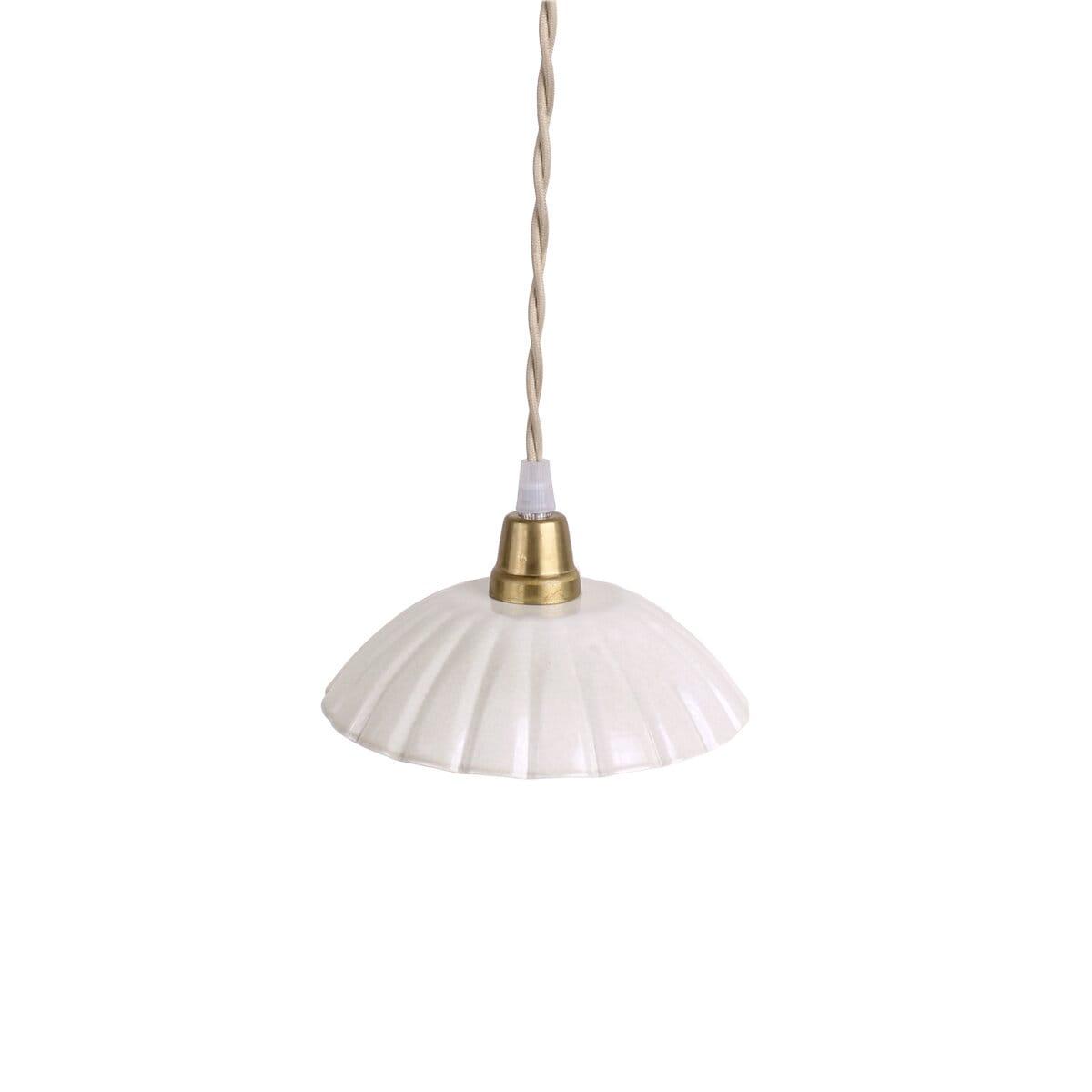 Pendant Lamp Ingrid Antique White Small