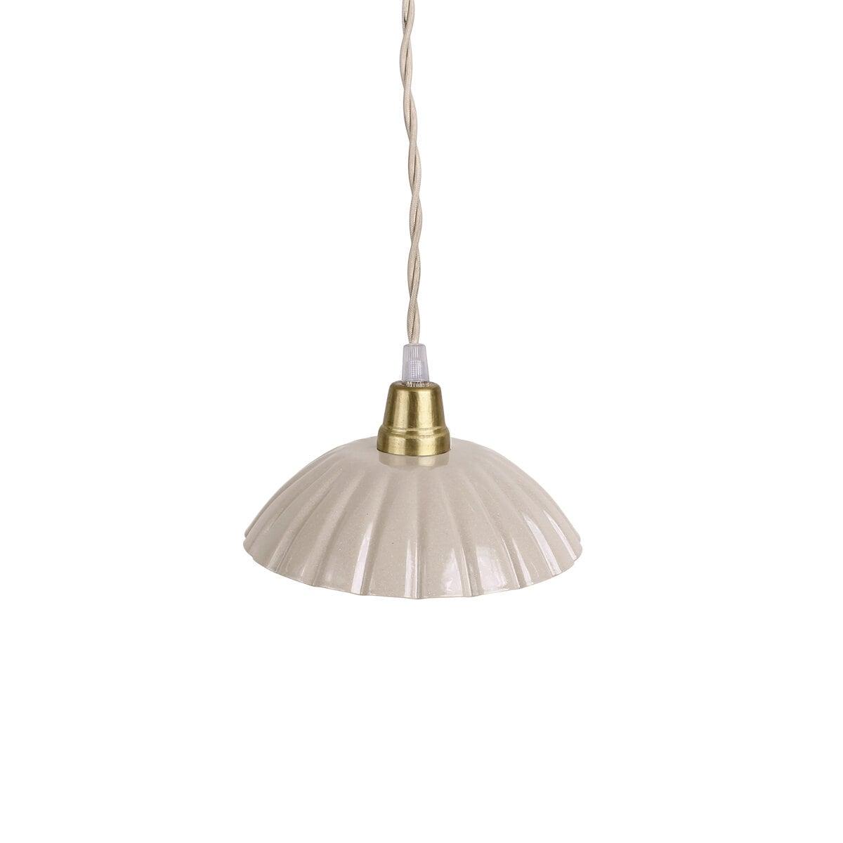 Pendant Lamp Ingrid Beige Small