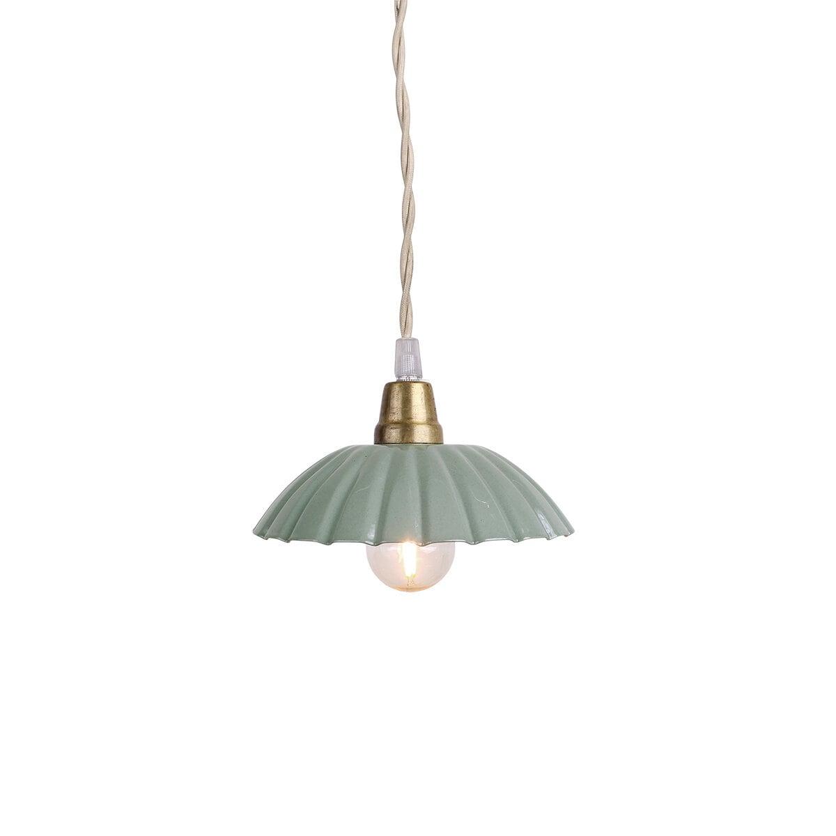 Pendant Lamp Ingrid Green Small
