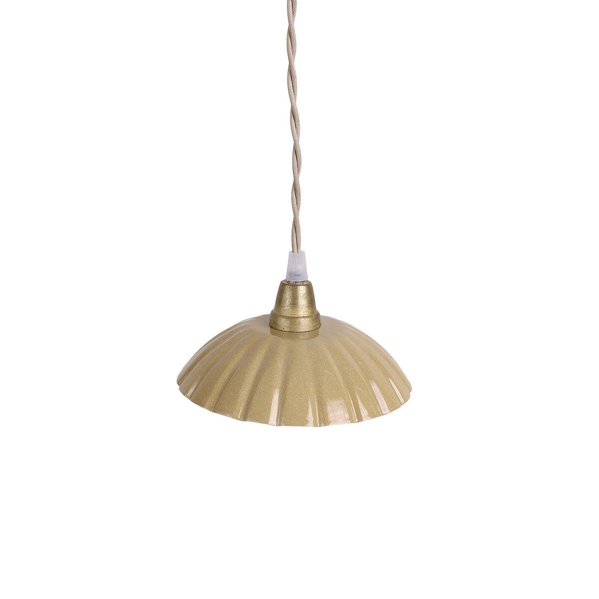 Pendant Lamp Ingrid Yellow Small