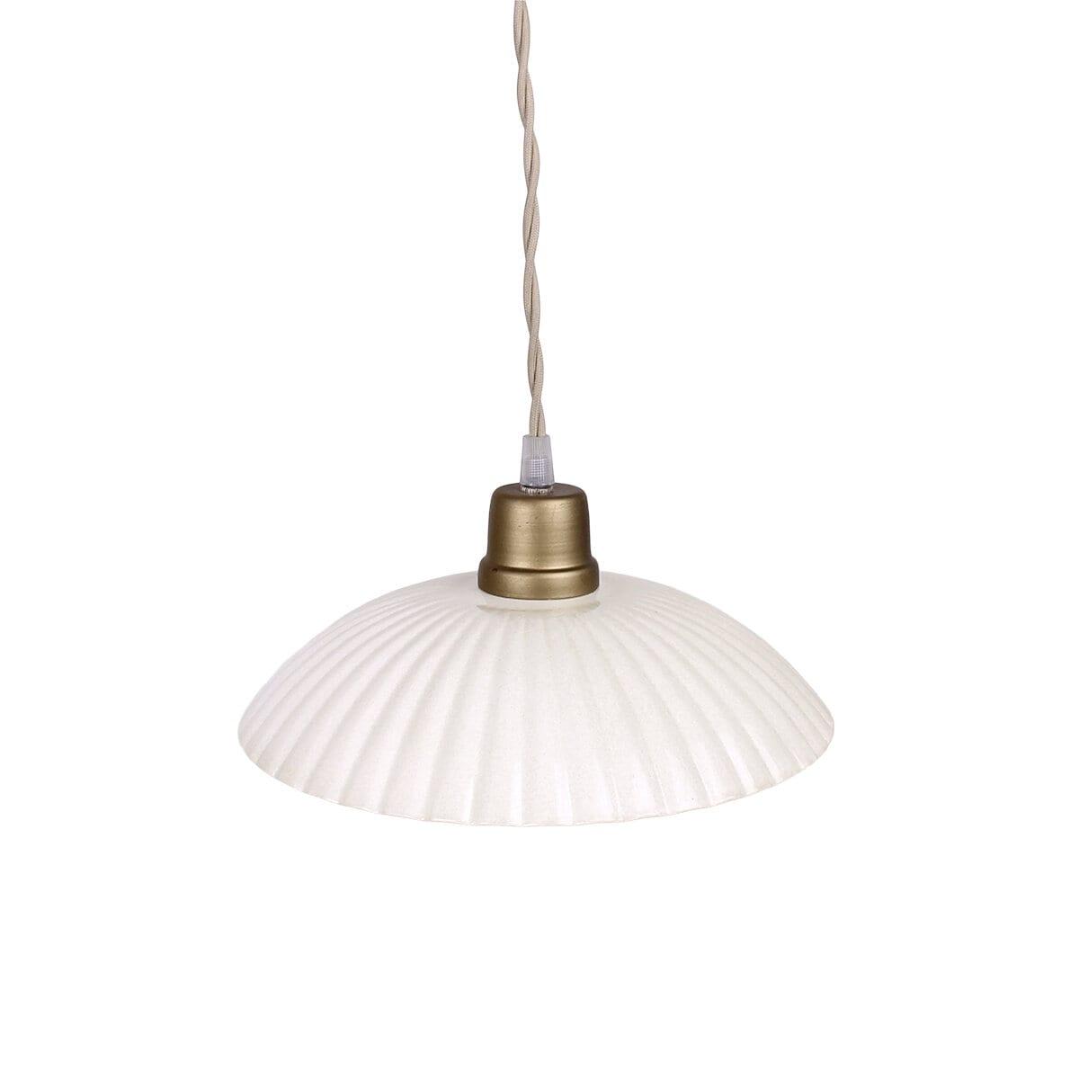 Pendant Lamp Ingrid Antique White Large