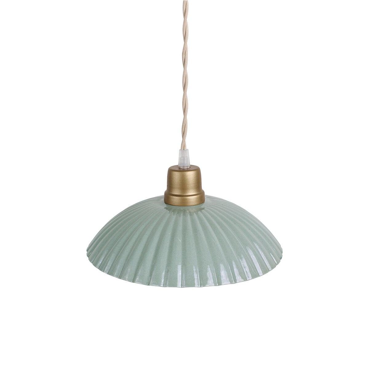 Pendant Lamp Ingrid Green Large