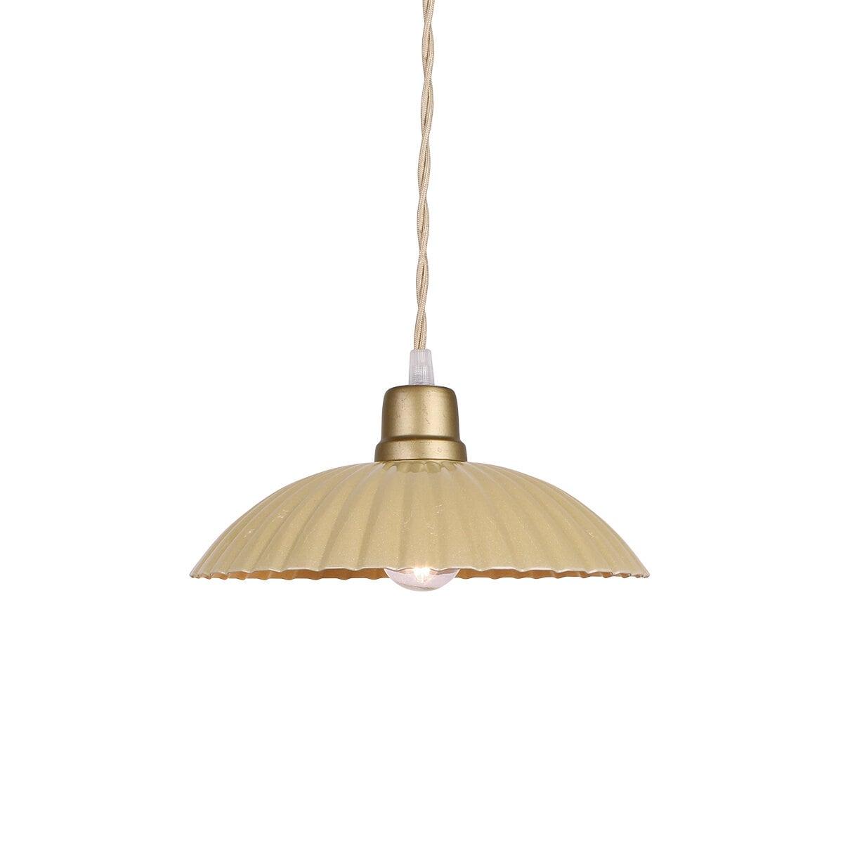 Pendant Lamp Ingrid Yellow Large