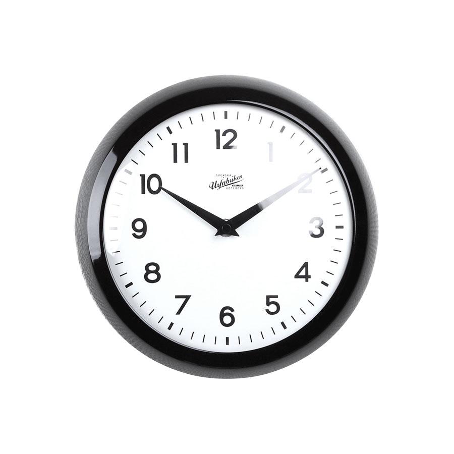 Wall Clock Folke Black