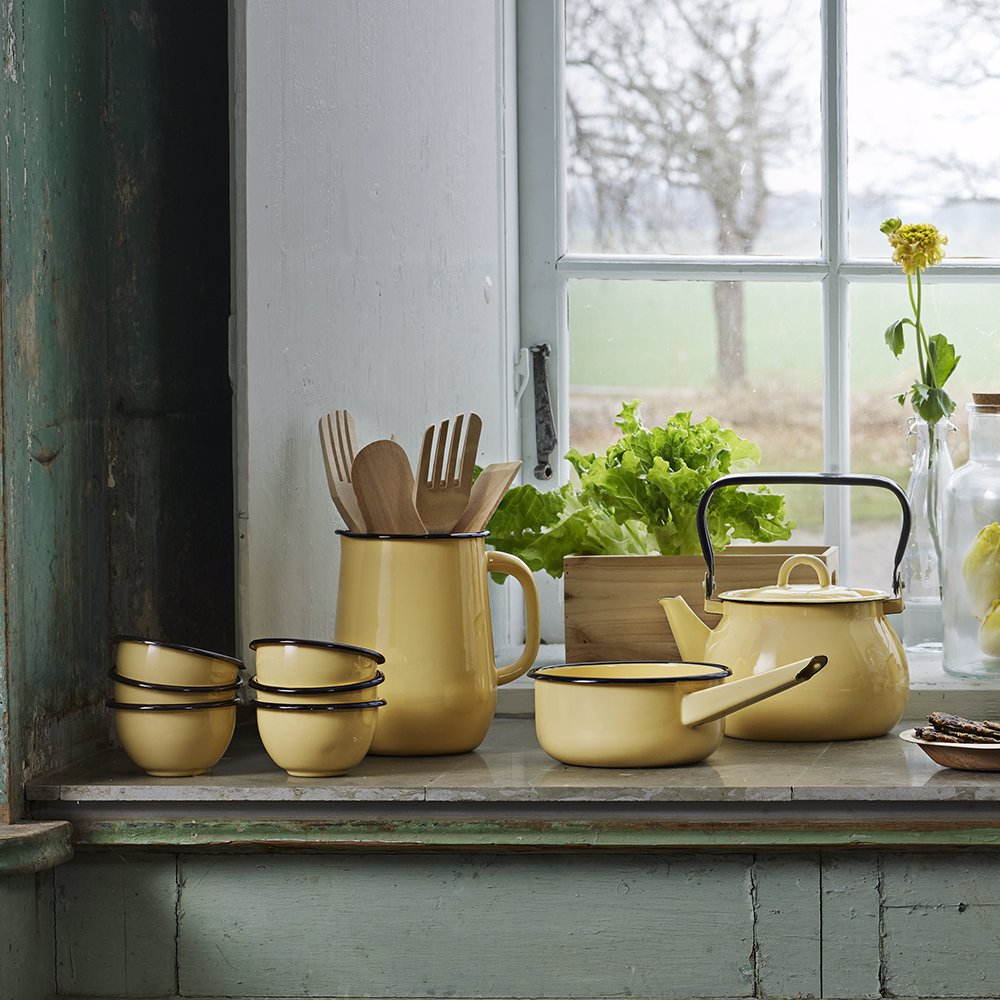 Bowl Emil´s Enamel Large Yellow