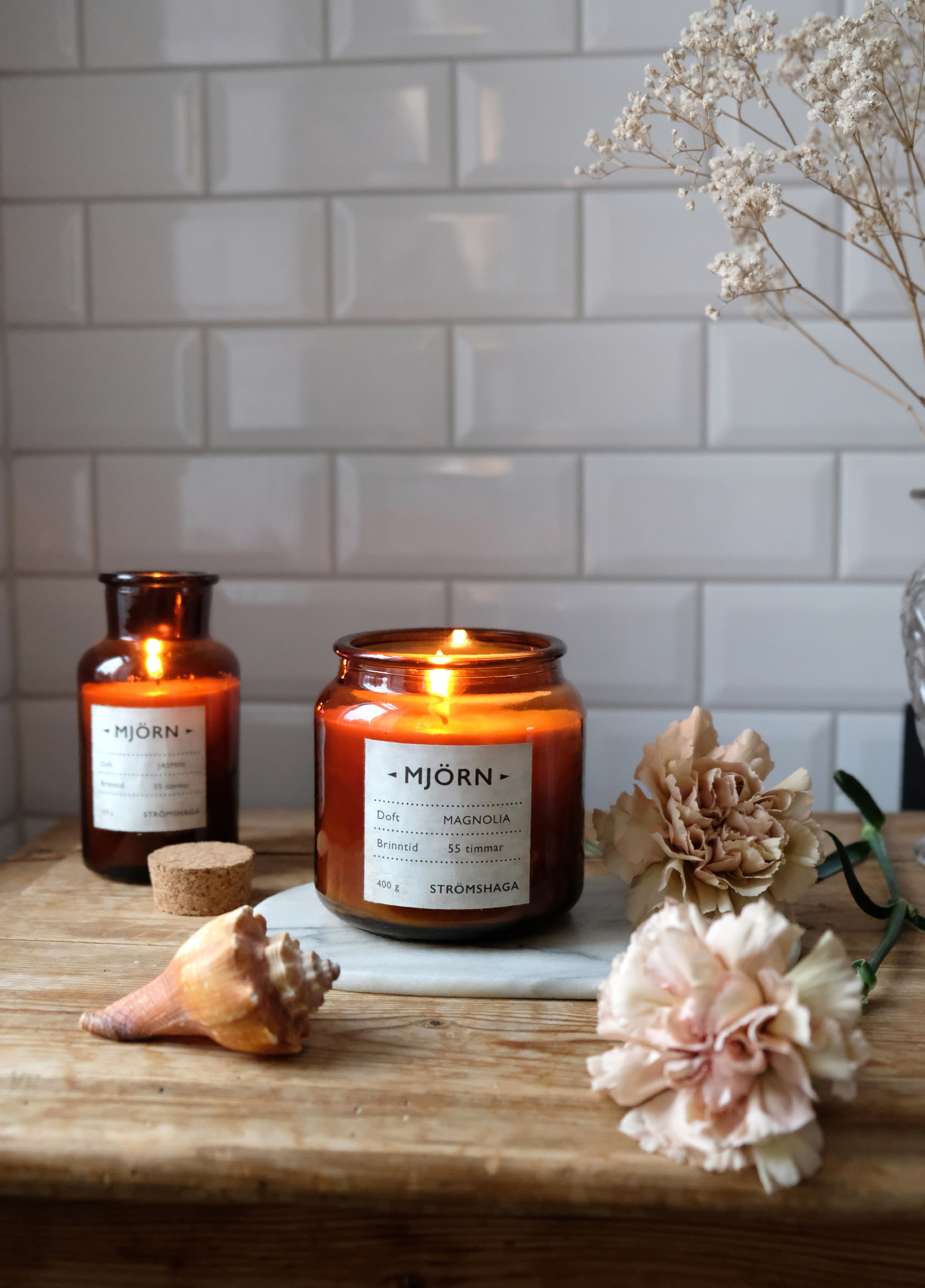 Scented Candle Mjörn Summer Meadow 400g